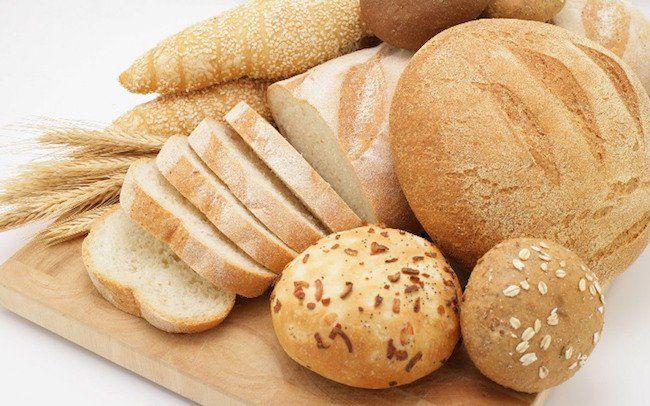 différents types de pains